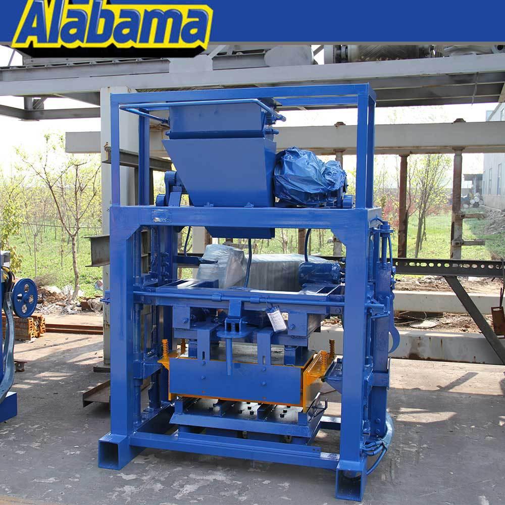 Block Machine Hand Operated Low Price Manual Block Machine