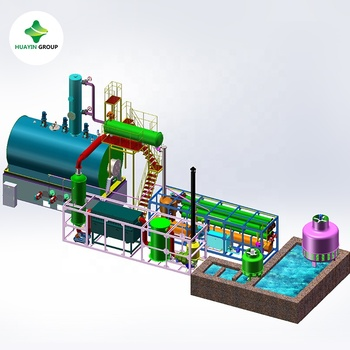 Used engine oil to base oil distillation machine Huayin Plant
