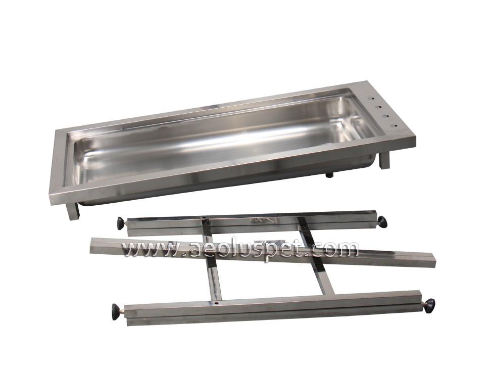 Tt 202 Collapsible Clinic Vet Tub Table Preparetion Dental