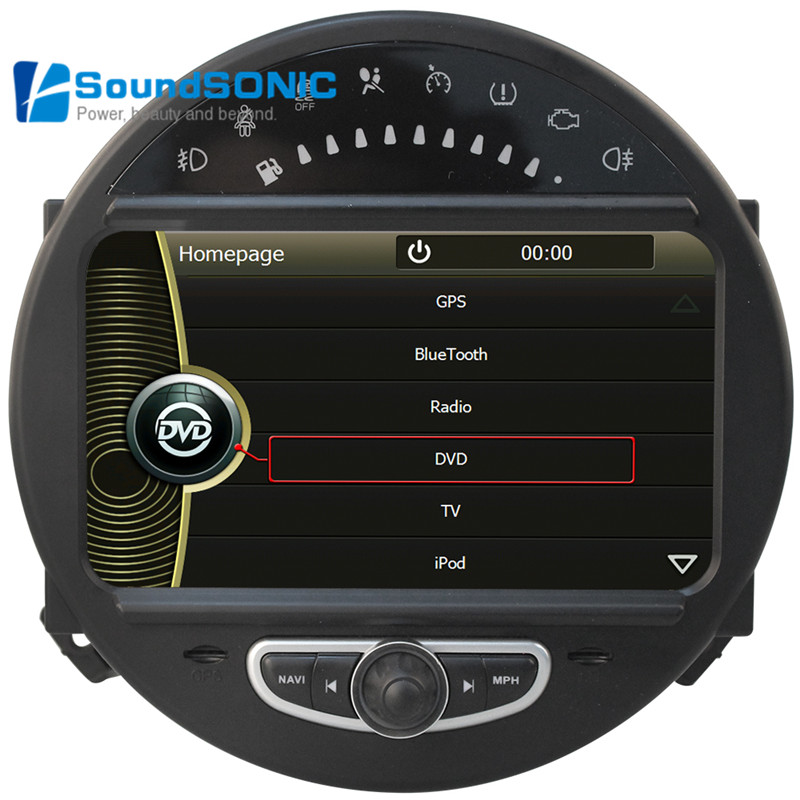 for bmw for mini cooper 2006 2013 touch screen car radio stereo dvd gps navigation sat navi mp3. Black Bedroom Furniture Sets. Home Design Ideas