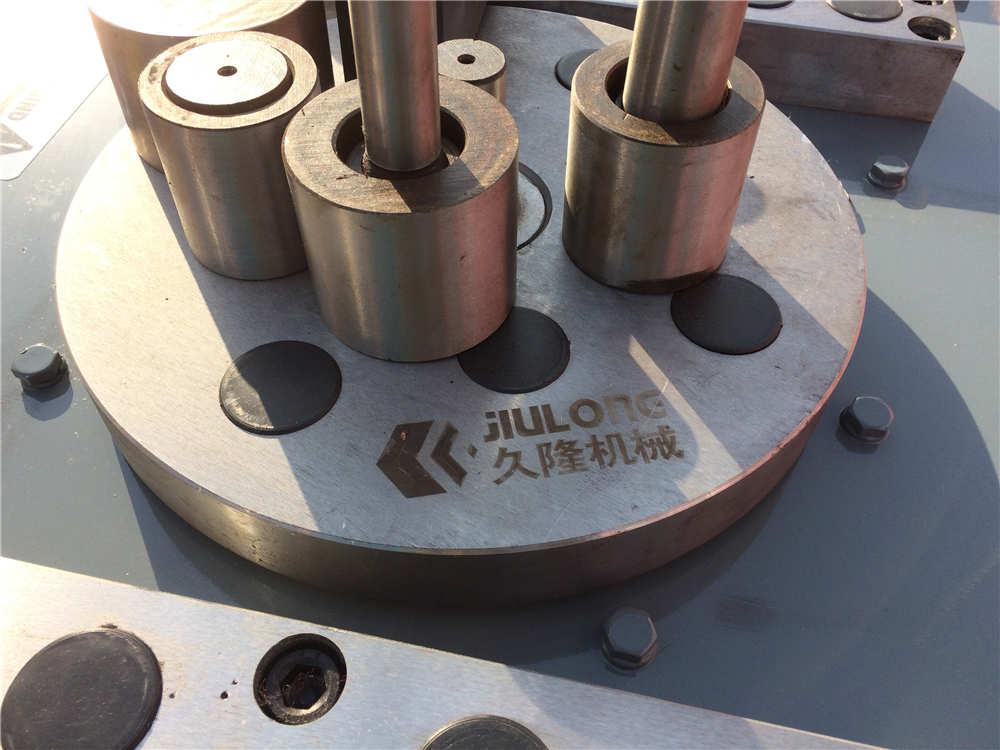 GW40V Metal craft wrought iron scroll bending blacksmith machine iron bar bending machine