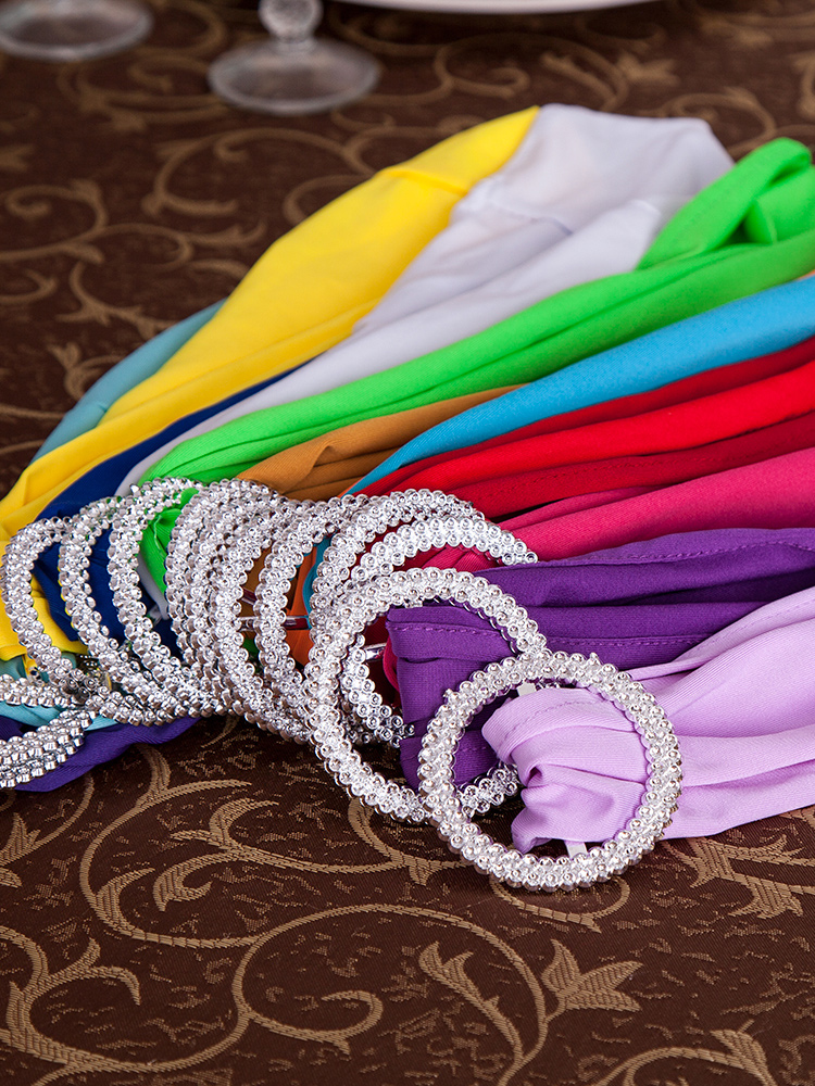 Hot Selling Cheap Beautiful Elastic Spandex Chair Sashes For Wedding