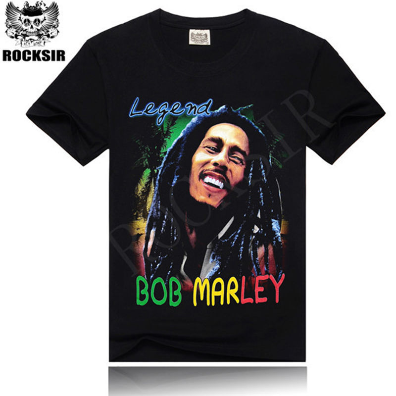 A colorful and stunning Bob Marley tokosepatu.ga Marley smiles on this beautiful juniors t-shirt with a sublimation dyed print. Bob's surrounded by colorful flowers, feathers and scrollwork, as well as the words 'peace' and 'love' on a 50/50 cotton/polyester blend fabric.