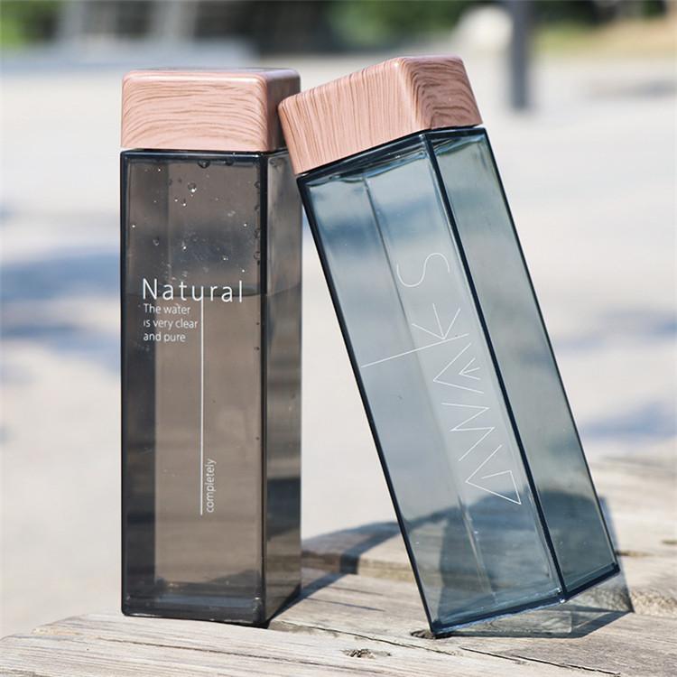 Оптовая продажа экологически чистых квадратных пластиковых бутылок для воды