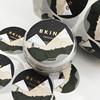 Gold foil hot stamping label