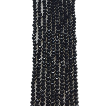 black glass beads crystal beads for jewelry making