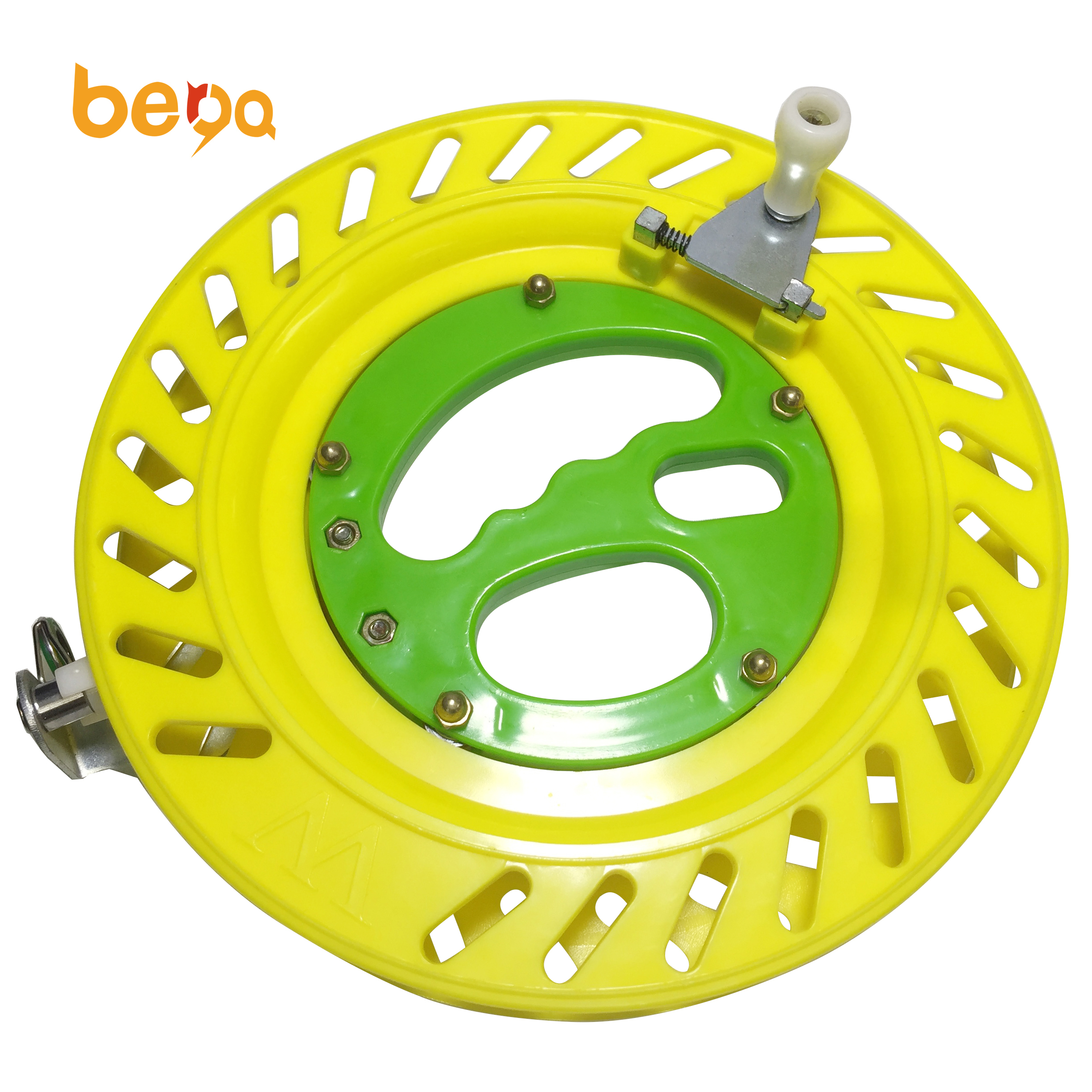plastic kite reel wheel lockable from the factory