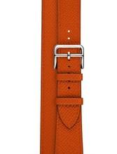 URVOI Double Tour для apple watch series 5 4 3 роскошный ремешок для iwatch Ремень Высокое качество Натуральная кожа петля обертывания 38 42 мм(Китай)