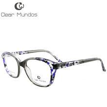 Прозрачные мужские и женские очки, модные оптические оправы TR90, очки с прозрачными линзами, очки с полной оправой для T8002(Китай)
