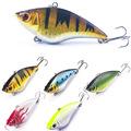 7cm 16g Hard Fishing Lure VIB Rattlin Hook Fishing Sinking Vibra Rattlin Hooktion Lures Crank Baits