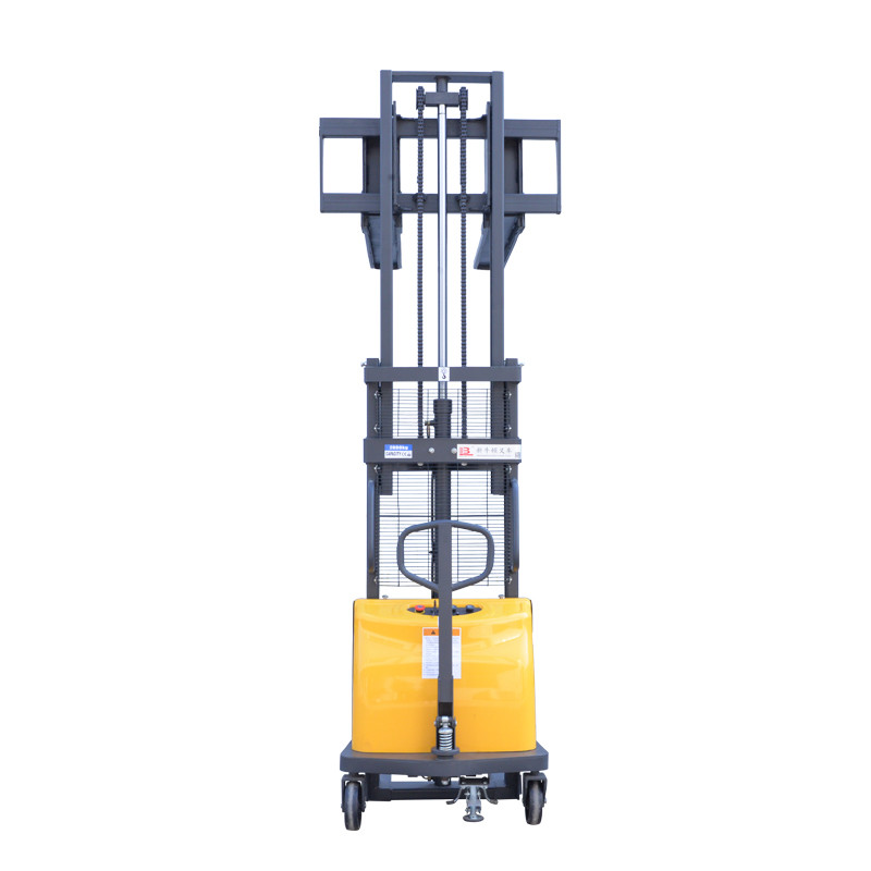 3 meter lifting height manual hand hydraulic stacker pallet