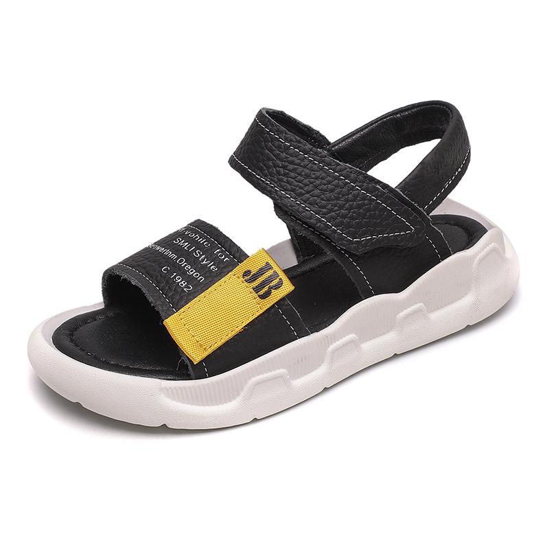 Повседневные детские пляжные сандалии на мягкой подошве для мальчиков