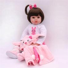 Силиконовая кукла для новорожденных, полная серия, 47 см(Китай)