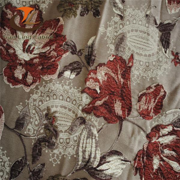 Лидер продаж, фабрика hai ning, новый дизайн, тканая ткань высокой плотности, окрашенная пряжа, жаккардовая ткань для занавесок