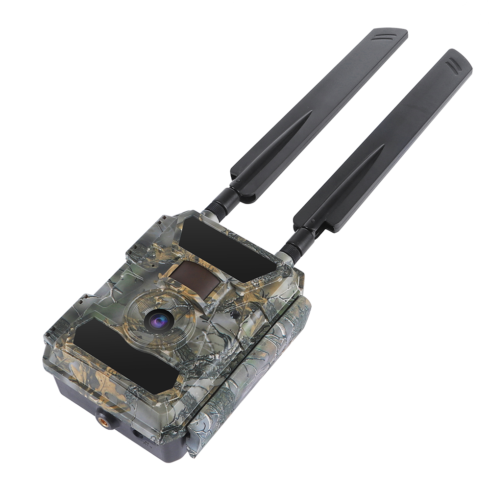 2020 New Night Vision Solar Panel Outdoor Security SIM Card Game Hunting Trail Camera 4g