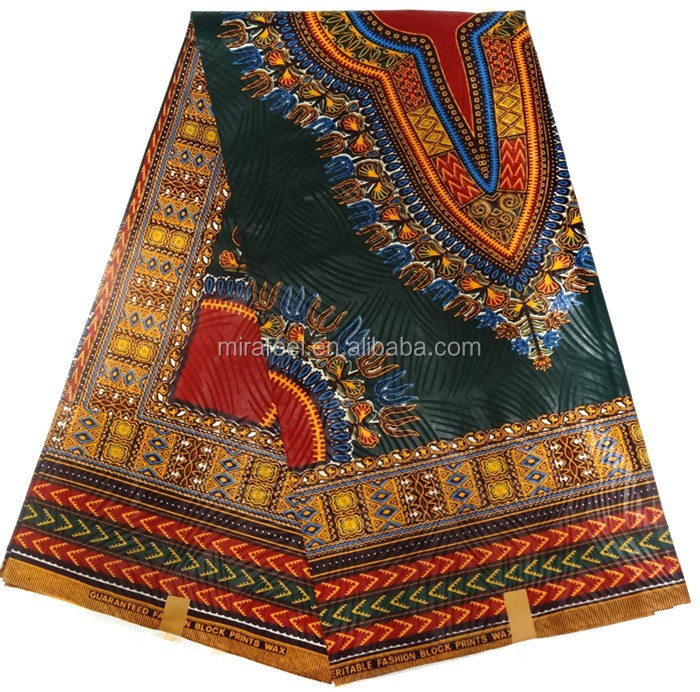 black Popular fabric Sale African Wax Print fabrics African dashiki African Dashiki Wholesale
