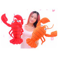 High Quality Big Lobster Plush Toys 65CM 3Colors Lobster Creative Soft Stuffed Doll Toy Pillow For