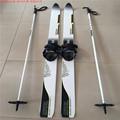 Brand Adult Snow Skis Glass Fiber Sled Cross country Skis 160cm 10cm XQ08