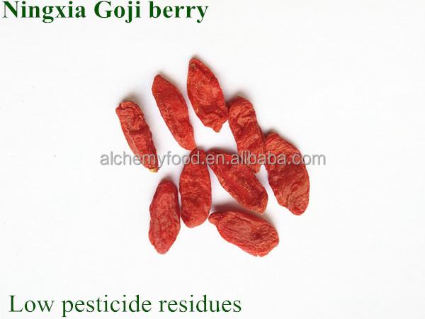 2018 новые урожая Ningxia Органические Ягоды Годжи Оптом