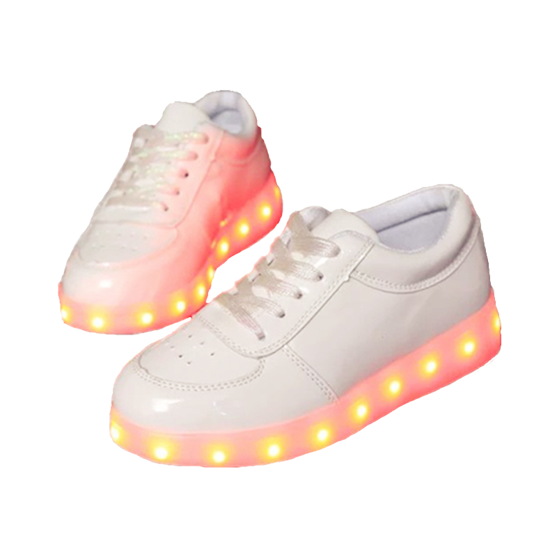 Free Shipping 2016 Summer Autumn USB Charging Led Children Shoes With Light Led Boys Girls Kids Shoes Led Chaussure Enfant A33