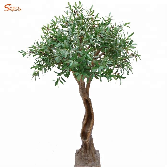 شجرة زيتونية صناعية لشجرة زيتونية مصنوعة من الألياف الزجاجية للبيع بالجملة في العالم Buy Olive Tree Artificial Olive Tree Decorative Tree Product On Alibaba Com