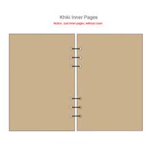 A7 A6 A5 прозрачная папка с листьями, внутренняя Обложка для ноутбука, записная книжка, дневник, офисный планер, канцелярские принадлежности(Китай)