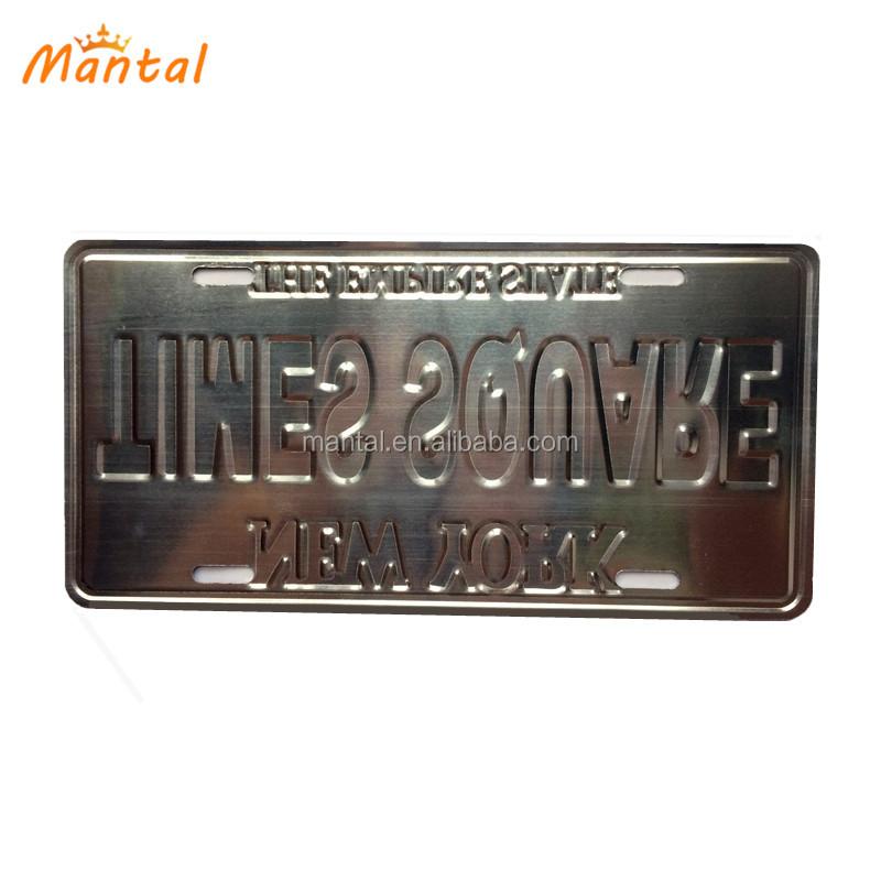 Decorative personalized souvenir Brazil custom license plate