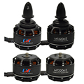 drone LHI 4pcs Gartt ML2206 1900KV 2CW 2CCW Brushless Motor for Mini Quadcopter QAV250 300