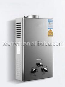 Переносной газовый водонагреватель для ванной, 6 л