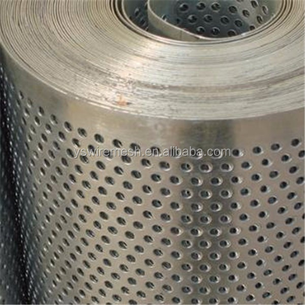 Stainless Steel Perforated Mesh Roll Buy Perforated