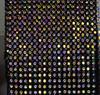 Maglia nera + AB cristallo
