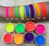 7 Neon Color