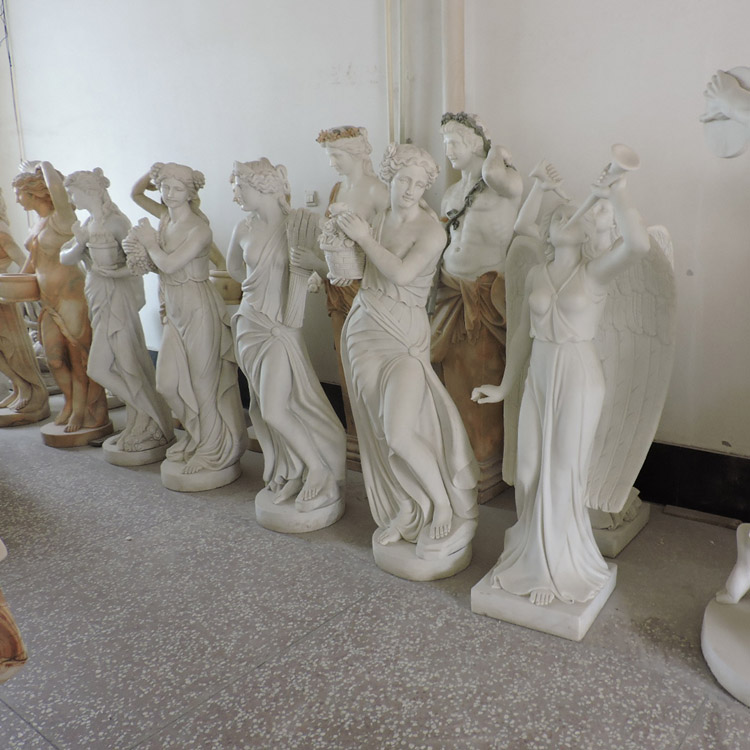2018 best selling high quality marble famous female statues