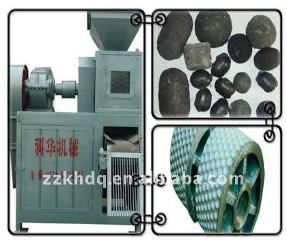 Energy saving briquetting machine