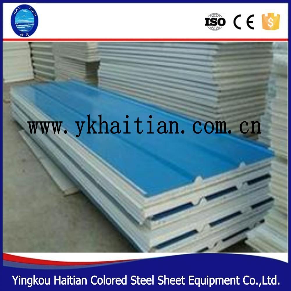 Easy Wand Grau Silber isoliert Panel ISOLIERT Sandwichplatten Dachplatten