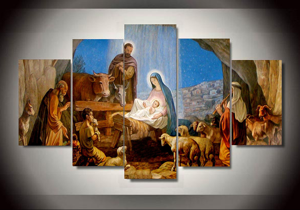 Online Buy Wholesale Jesus Wall Art From China Jesus Wall