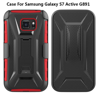 2018 Armor ShockProof Mobile Phone For Samsung Galaxy S7 Active G891 Case S6 S5 S5 Cover Case