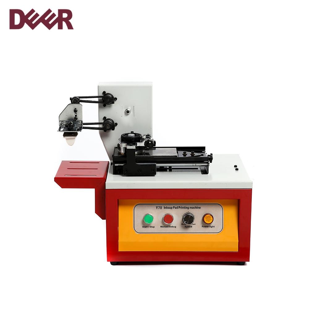 Single color safety semi-automatic pad printer