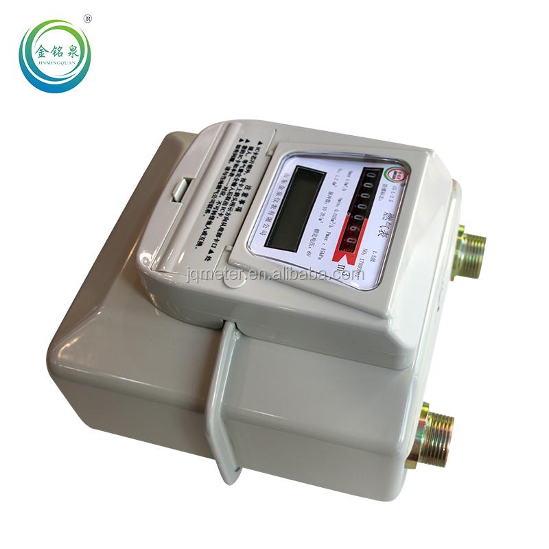 Smart SIM GPRS remote reading diaphragm gas meter