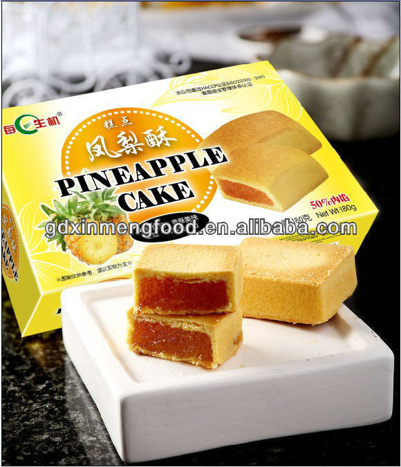 Pineapple Cake View Taiwanese Pineapple Cake Meirishengji Product Details From Guangdong Xinmeng Food Co Ltd On Alibaba Com