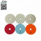JDK 3 Steps Diamond Polishing Pads for Granite Wet Use Resin