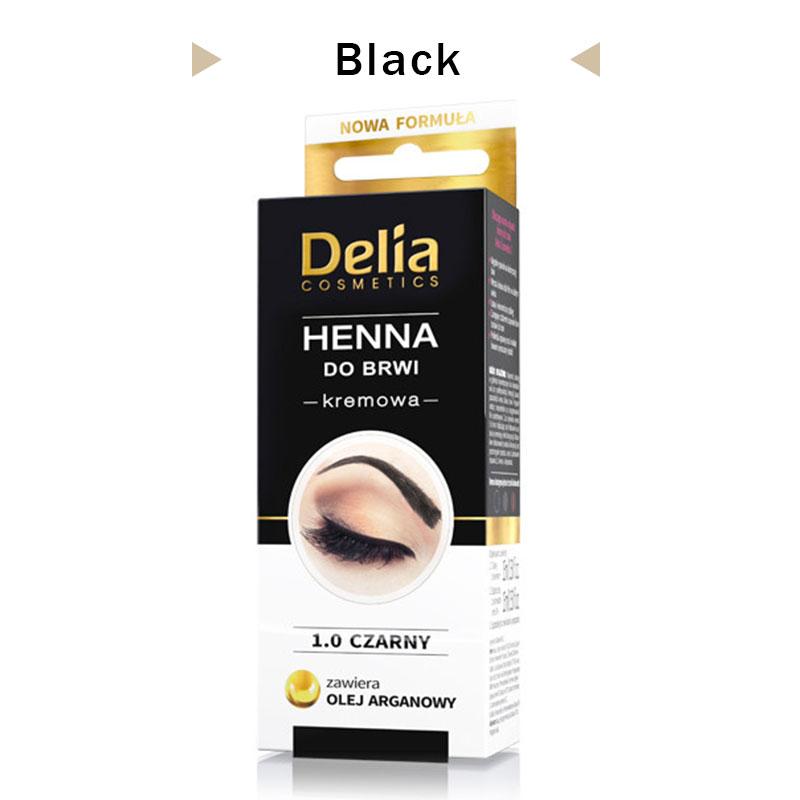 Henna Tattoo Kits For Eyebrows: Delia Henna Eyebrows Cream Makeup Eyebrow Tint Brows Gel