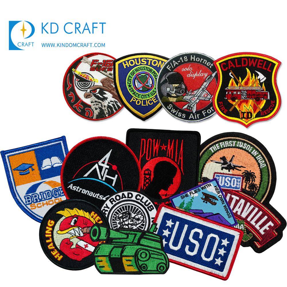 Custom design family canada pakistan german france school military RAF hand made blazer bullion wire patch embroidery badge