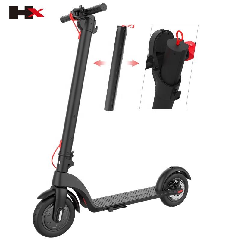 Электрический складной скутер, Европа, 350 Вт, Электрический скутер для взрослых, максимальный диапазон 25 км, стоячий Электрический скутер