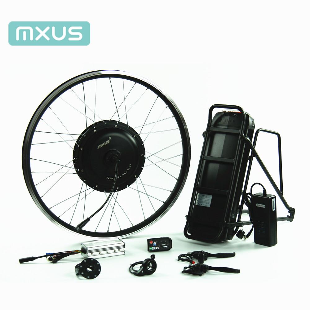 48 в 500 Вт высококачественный комплект электродвигателя для электрического велосипеда Бесщеточное заднее колесо электрического конвертера