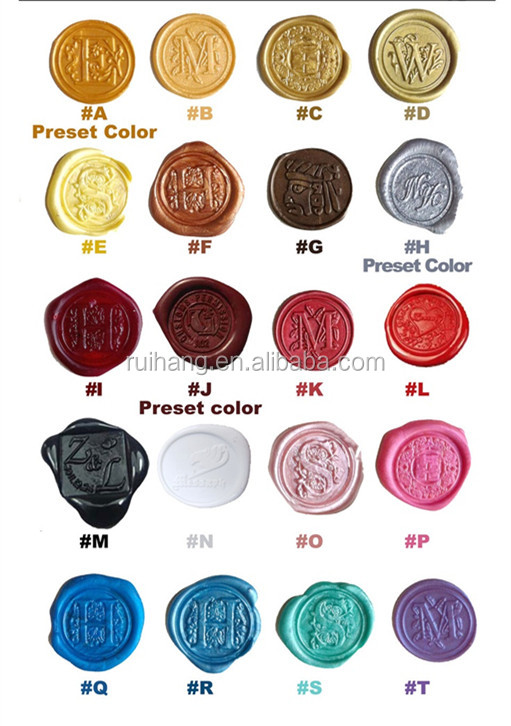 Custom Waxes Fill out  inquiry  to change your colors and get them customized.