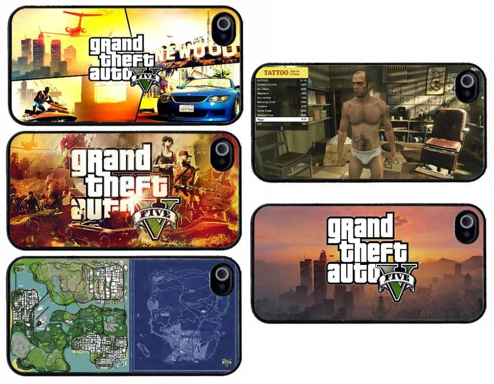 Gta 6 Cover: GTA-5-Grand-Theft-Auto-V-5-Plastic-Hard-Back-Cell-Phone