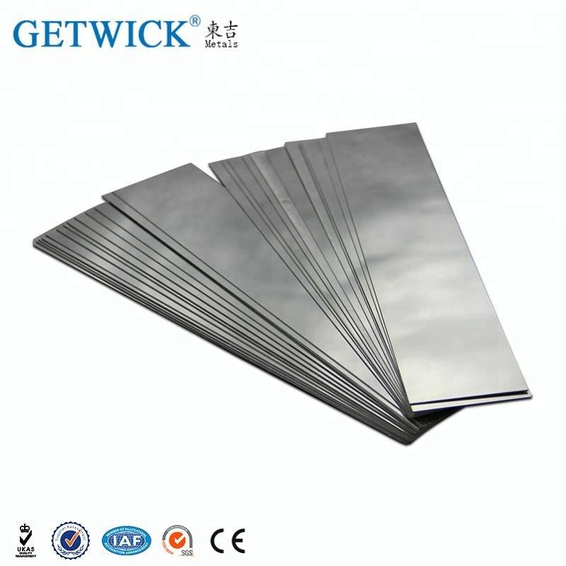 Getwick Заводская индивидуальная пластина из молибденового и молибденового сплава