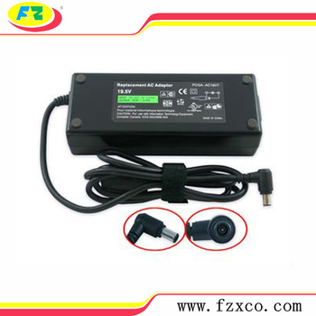 New AC Power Supply Adapter Charger For Sony Vaio PCGA-AC19V7 19.5V 6.15A 120W Laptop AC Adapter Charger