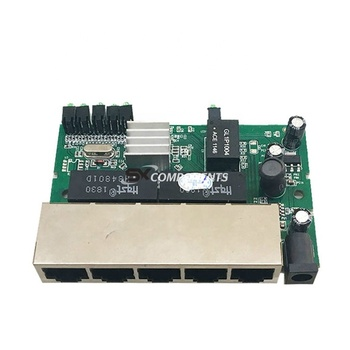 PCBA Module 5 Port 1000Mbps Gigabit networking switches US EU plug laptop package 5 port ethernet switch gigabit switch